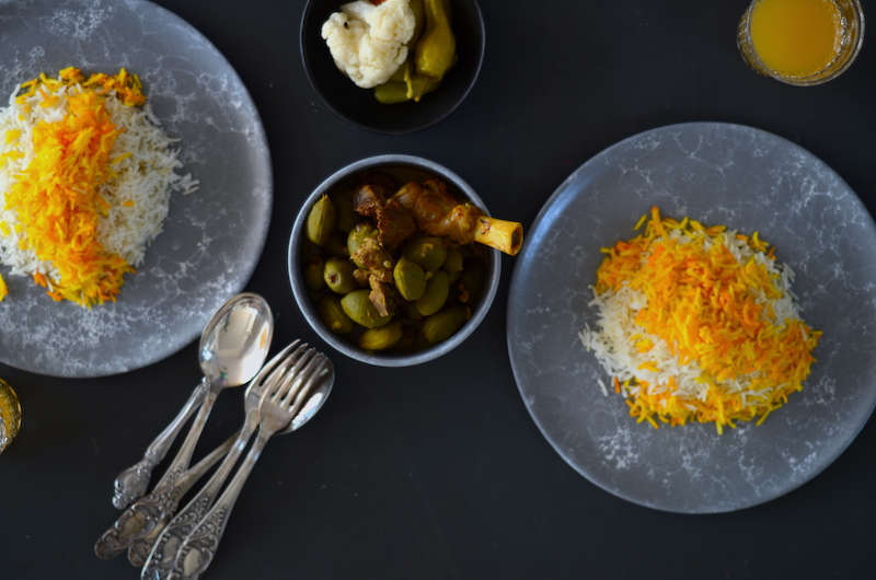 Green-almond-stew
